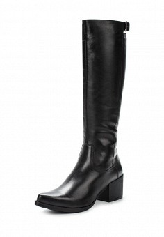 Сапоги, Simen, цвет: черный. Артикул: ER946AWUZN44. Женская обувь / Сапоги / Сапоги