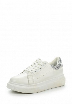 Кеды, Fashion & Bella, цвет: белый. Артикул: FA034AWPSH28. Женская обувь / Кроссовки и кеды