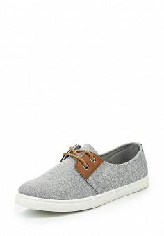 Кеды, Fashion & Bella, цвет: серый. Артикул: FA034AWQTI78. Женская обувь / Кроссовки и кеды