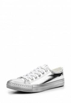 Кеды, Fashion & Bella, цвет: серебряный. Артикул: FA034AWSAE86. Женская обувь / Кроссовки и кеды