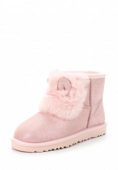 Полусапоги, Grand Style, цвет: розовый. Артикул: GR025AWWOK30. Женская обувь / Сапоги