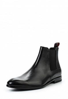 Ботинки, Hugo, цвет: черный. Артикул: HU286AMSSE46. Мужская обувь / Ботинки и сапоги