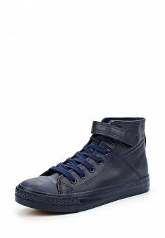 Кеды, Ideal Shoes, цвет: синий. Артикул: ID005AWLQX05. Женская обувь / Кроссовки и кеды
