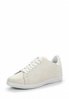 Кеды, Ideal Shoes, цвет: белый. Артикул: ID005AWRWQ48. Женская обувь / Кроссовки и кеды