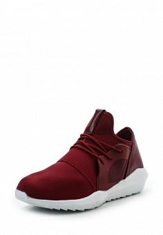 Кроссовки, Ideal Shoes, цвет: бордовый. Артикул: ID005AWRWQ57. Женская обувь / Кроссовки и кеды