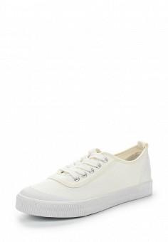 Кеды, Ideal Shoes, цвет: белый. Артикул: ID005AWSBE97. Женская обувь / Кроссовки и кеды