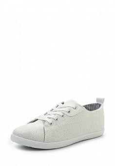 Кеды, Ideal Shoes, цвет: белый. Артикул: ID005AWSBF34. Женская обувь / Кроссовки и кеды