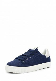 Кеды, Ideal Shoes, цвет: синий. Артикул: ID007AWWEI66. Женская обувь / Кроссовки и кеды