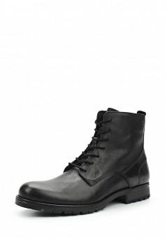 Ботинки, Jack & Jones, цвет: черный. Артикул: JA391AMUVG50. Мужская обувь / Ботинки и сапоги