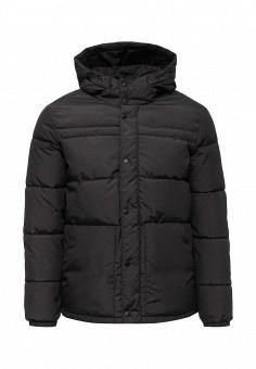 Куртка утепленная, Jack & Jones, цвет: серый. Артикул: JA391EMUIV83. Мужская одежда / Верхняя одежда / Пуховики и зимние куртки