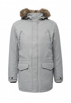 Парка, Jack & Jones, цвет: серый. Артикул: JA391EMUIW04. Мужская одежда / Верхняя одежда / Парки