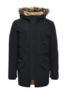 Куртка утепленная, Jack & Jones, цвет: синий. Артикул: JA391EMUIX07. Мужская одежда / Верхняя одежда / Парки