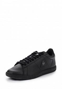 Кеды, Le Coq Sportif, цвет: черный. Артикул: LE004AUVWM54. Женская обувь / Кроссовки и кеды / Кроссовки