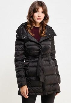 Пуховик, Mango, цвет: черный. Артикул: MA002EWVWU15. Женская одежда / Верхняя одежда / Пуховики и зимние куртки