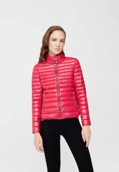 Пуховик, Mango, цвет: розовый. Артикул: MA002EWXHD66. Женская одежда / Верхняя одежда