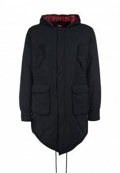 Парка, Merc, цвет: синий. Артикул: ME001EMJI997. Мужская одежда / Верхняя одежда / Пуховики и зимние куртки