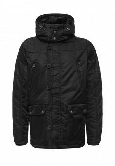 Куртка утепленная, Colin's, цвет: черный. Артикул: MP002XM0W3W6. Мужская одежда / Верхняя одежда / Пуховики и зимние куртки