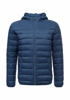 Пуховик, Colin's, цвет: синий. Артикул: MP002XM0W3WW. Мужская одежда / Верхняя одежда / Пуховики и зимние куртки