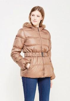 Пуховик, Colin's, цвет: коричневый. Артикул: MP002XW0EVG0. Женская одежда / Верхняя одежда / Пуховики и зимние куртки