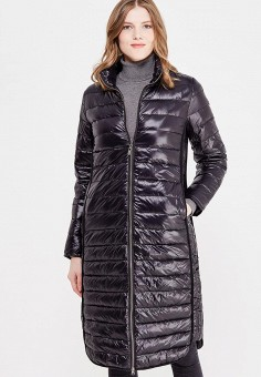 Пуховик, Colin's, цвет: черный. Артикул: MP002XW1AIOO. Женская одежда / Верхняя одежда / Пуховики и зимние куртки