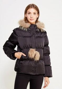 Пуховик, Colin's, цвет: черный. Артикул: MP002XW1AIQE. Женская одежда / Верхняя одежда / Пуховики и зимние куртки