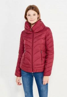 Пуховик, Colin's, цвет: бордовый. Артикул: MP002XW1AIQJ. Женская одежда / Верхняя одежда / Пуховики и зимние куртки