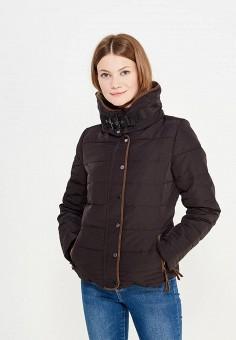 Пуховик, Colin's, цвет: черный. Артикул: MP002XW1AIQK. Женская одежда / Верхняя одежда / Пуховики и зимние куртки