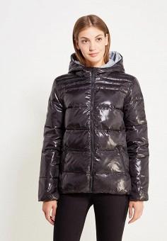 Пуховик, Colin's, цвет: черный. Артикул: MP002XW1AIQY. Женская одежда / Верхняя одежда / Пуховики и зимние куртки