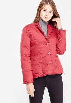 Пуховик, IST'OK, цвет: бордовый. Артикул: MP002XW1AOM3. Женская одежда / Верхняя одежда