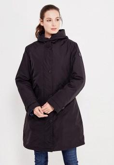 Парка, Napapijri, цвет: черный. Артикул: NA154EWVSZ27. Женская одежда / Верхняя одежда / Парки
