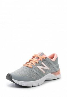 Кроссовки, New Balance, цвет: серый. Артикул: NE007AWPEH56. Женская обувь / Кроссовки и кеды / Кроссовки