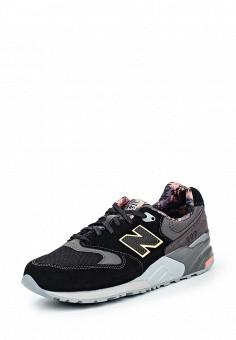 Кроссовки, New Balance, цвет: черный. Артикул: NE007AWPEH74. Женская обувь / Кроссовки и кеды / Кроссовки