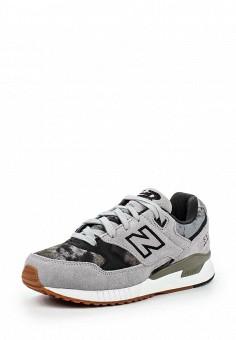 Кроссовки, New Balance, цвет: серый. Артикул: NE007AWPEH79. Женская обувь / Кроссовки и кеды / Кроссовки