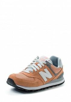 Кроссовки, New Balance, цвет: оранжевый. Артикул: NE007AWUNZ40. Женская обувь / Кроссовки и кеды / Кроссовки