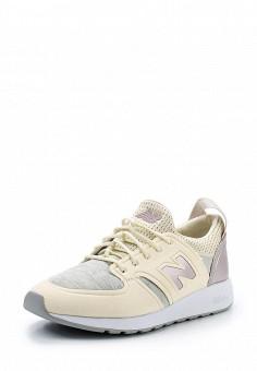 Кроссовки, New Balance, цвет: желтый. Артикул: NE007AWUNZ90. Женская обувь / Кроссовки и кеды / Кроссовки