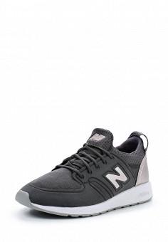 Кроссовки, New Balance, цвет: серый. Артикул: NE007AWUNZ92. Женская обувь / Кроссовки и кеды / Кроссовки