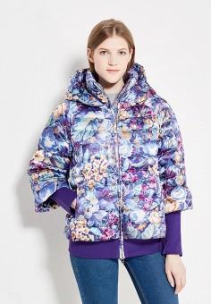 Пуховик, Odri, цвет: мультиколор. Артикул: OD001EWYGM47. Женская одежда / Верхняя одежда / Пуховики и зимние куртки