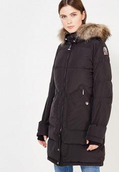 Пуховик, Parajumpers, цвет: черный. Артикул: PA997EWKKF65. Женская одежда / Верхняя одежда / Пуховики и зимние куртки