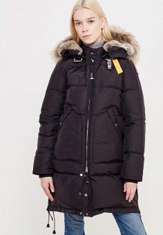 Пуховик, Parajumpers, цвет: черный. Артикул: PA997EWTCG39. Премиум / Одежда / Верхняя одежда / Пуховики и зимние куртки