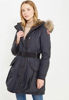 Пуховик, Parajumpers, цвет: черный. Артикул: PA997EWTCG59. Женская одежда / Верхняя одежда / Пуховики и зимние куртки