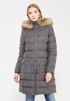 Пуховик, Parajumpers, цвет: серый. Артикул: PA997EWTCG61. Женская одежда / Верхняя одежда / Пуховики и зимние куртки