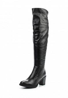 Ботфорты, Ralf Ringer, цвет: черный. Артикул: RA084AWLCC59. Женская обувь / Сапоги