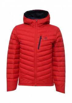 Пуховик, Salomon, цвет: красный. Артикул: SA007EMUHK03. Мужская одежда / Верхняя одежда / Пуховики и зимние куртки