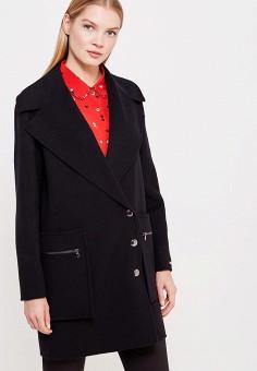 Пальто, Sportmax Code, цвет: черный. Артикул: SP027EWTMG80. Премиум / Одежда / Верхняя одежда