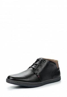 Ботинки, Tesoro, цвет: черный. Артикул: TE947AMQCI72. Мужская обувь / Ботинки и сапоги