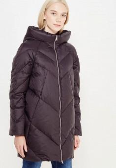 Пуховик, Tom Farr, цвет: черный. Артикул: TO005EWWUW01. Женская одежда / Верхняя одежда / Пуховики и зимние куртки