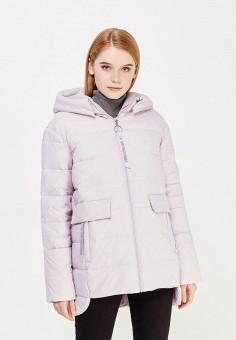 Пуховик, Tom Farr, цвет: фиолетовый. Артикул: TO005EWWUW04. Женская одежда / Верхняя одежда / Пуховики и зимние куртки