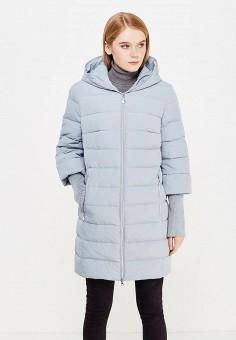 Пуховик, Tom Farr, цвет: голубой. Артикул: TO005EWWVA28. Женская одежда / Верхняя одежда / Пуховики и зимние куртки
