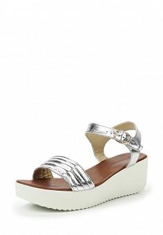 Босоножки, Topway, цвет: серебряный. Артикул: TO038AWTOB09. Женская обувь / Босоножки
