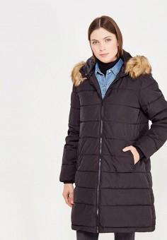 Куртка утепленная, Твое, цвет: черный. Артикул: TV001EWYNU50. Женская одежда / Верхняя одежда / Пуховики и зимние куртки